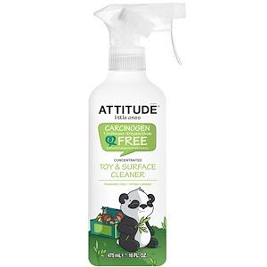 Аттитуде, Little Ones, Toy & Surface Cleaner, Concentrated, Fragrance Free, 16 fl oz (475 ml) отзывы покупателей