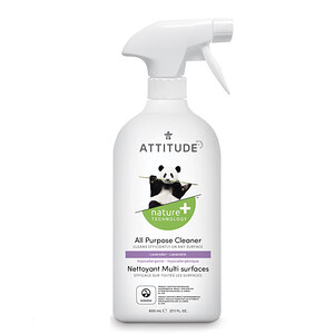 ATTITUDE, All Purpose Cleaner, Lavender, 27.1 fl oz (800 ml)'