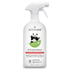 ATTITUDE, 多功能清潔液,粉紅葡萄柚,27.1 液量盎司(800 毫升)