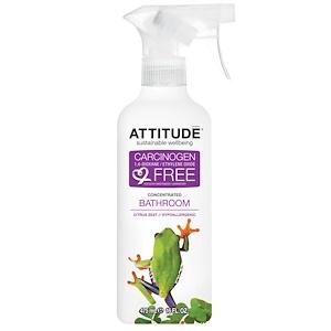 Аттитуде, Concentrated Bathroom Cleaner, Citrus Zest, 16 fl oz (475 ml) отзывы