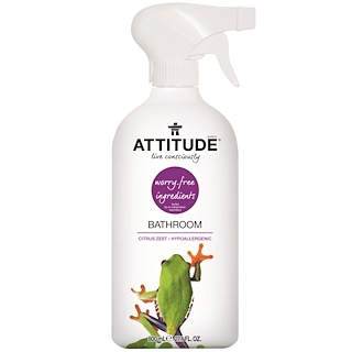 ATTITUDE, Bathroom, Cáscaras de Citrus, 27.1 fl oz (800 ml)