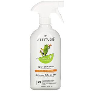 Аттитуде, Bathroom Cleaner, Citrus Zest, 27.1 fl oz (800 ml) отзывы