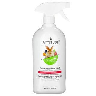 ATTITUDE, Fruit & Vegetable Wash, Unscented, 27.1 fl oz (800 ml)