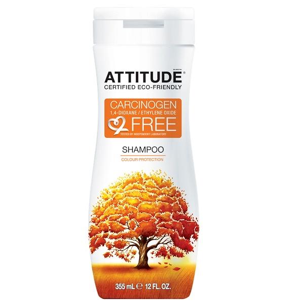 ATTITUDE, Shampoo, Color Protection, 12 fl oz (355 ml) (Discontinued Item)