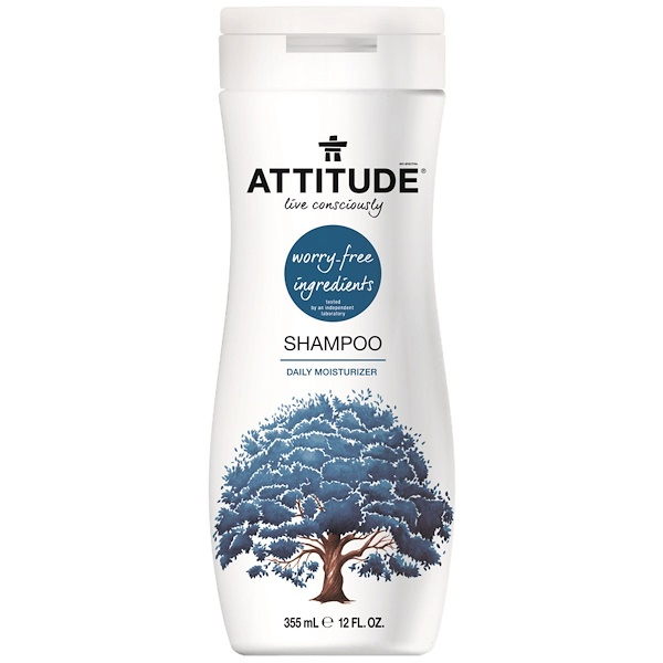 ATTITUDE, Shampoo, Daily Moisturizer, 12 fl oz (355 ml) (Discontinued Item)