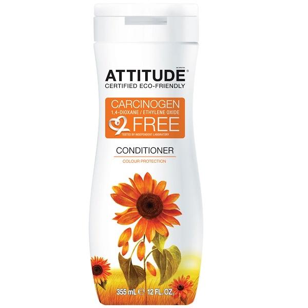 ATTITUDE, Conditioner, Color Protection, 12 fl oz (355 ml) (Discontinued Item)