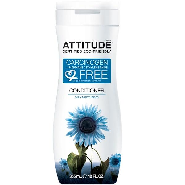 ATTITUDE, Conditioner, Daily Moisturizer, 12 fl oz (355 ml) (Discontinued Item)