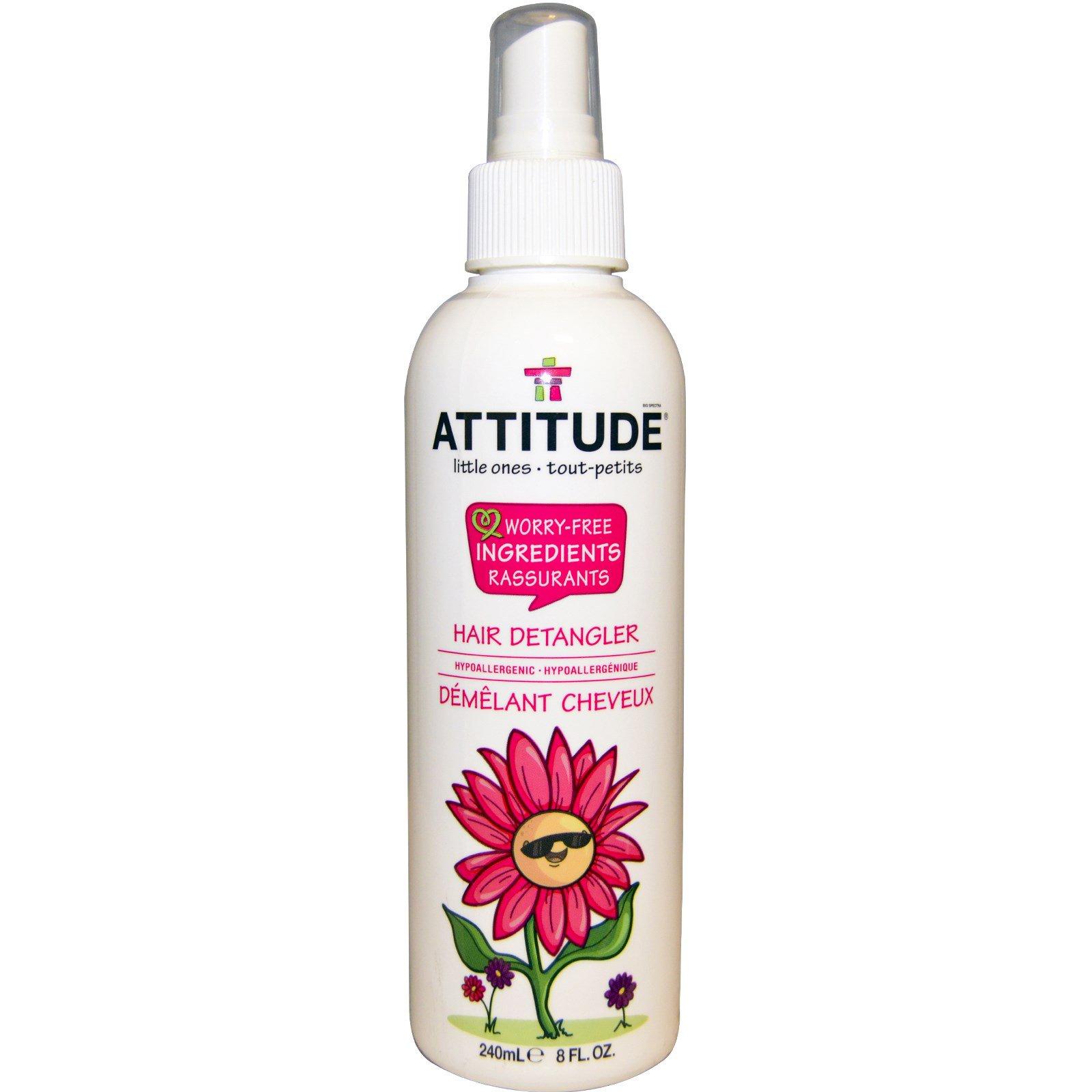 ATTITUDE, Little Ones, детское средство для волос, облегчающее расчесывание, 8.жидких унций (240 мл)