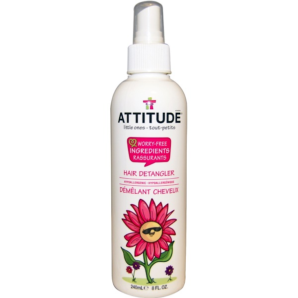 ATTITUDE, Little Ones, Hair Detangler, 8 fl oz (240 ml) (Discontinued Item)