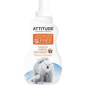 Аттитуде, Concentrated Fabric Softener, Citrus Zest, 70 Loads, 35.5 fl oz (1.05 l) отзывы