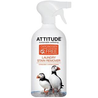ATTITUDE, 洗濯物のシミ抜き, シトラスゼスト, 27.1液量オンス(800 ml)