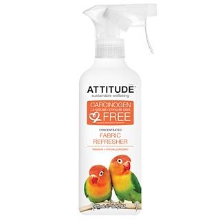 ATTITUDE, Концентрированный освежитель для ткани, страсть, 16 жидких унций (475 мл)