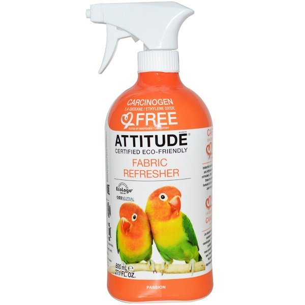 ATTITUDE, Fabric Refresher, Passion, 27.1 fl oz (800 ml) (Discontinued Item)