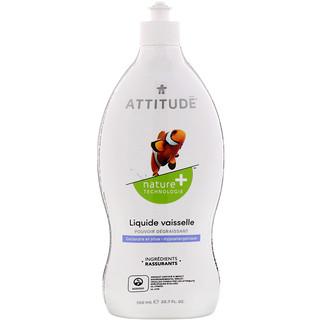ATTITUDE, Dishwashing Liquid, Coriander & Olive, 23.7 fl oz (700 ml)