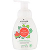ATTITUDE, Little Leaves Science, Foaming Hand Soap, Watermelon & Coco, 10 fl oz (295 ml)