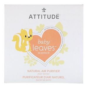 Аттитуде, Baby Leaves Science, Natural Air Purifier, Pear Nectar, 8 oz (227 g) отзывы