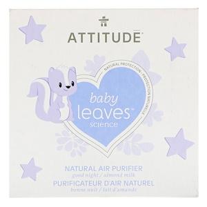 Аттитуде, Baby Leaves Science, Natural Air Purifier, Almond Milk, 8 oz (227 g) отзывы