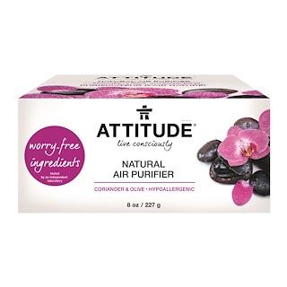 ATTITUDE, Natural Air Purifier, Coriander & Olive, 8 oz (227 g)