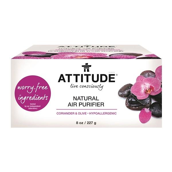 ATTITUDE, Natural Air Purifier, Coriander & Olive, 8 oz (227 g) (Discontinued Item)