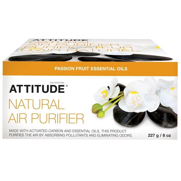ATTITUDE, 天然空気清浄剤、パッションフルーツ、8 オンス (227 g) (Discontinued Item)