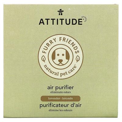 ATTITUDE Furry Friends Natural Pet Care, Air Purifier, Lavender, 8 oz (227 g)