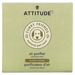 ATTITUDE, Furry Friends Natural Pet Care,空氣淨化劑,薰衣花草味,8 盎司(227 克)
