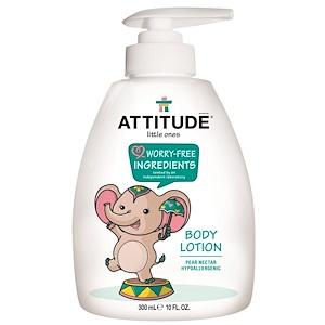 Аттитуде, Little Ones, Body Lotion, Pear Nectar, 10 fl oz (300 ml) отзывы покупателей