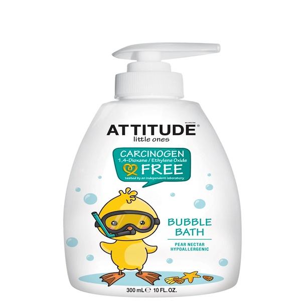 ATTITUDE, Little Ones, Bubble Bath, Pear Nectar, 10 fl oz (300 ml)
