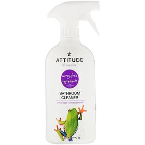 Аттитуде, Bathroom Cleaner, Citrus Zest, 27.1 fl oz (800 ml) отзывы покупателей