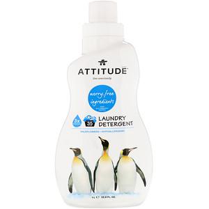 Аттитуде, Laundry Detergent, Wildflowers, 33.8 fl oz (1 l) отзывы покупателей