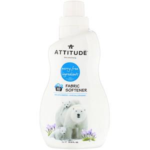 Аттитуде, Fabric Softener, 40 Loads, Wildflowers, 33.8 fl oz (1 l) отзывы покупателей