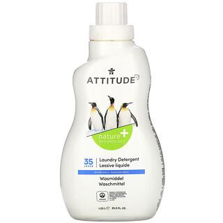 ATTITUDE, Laundry Detergent, Wildflowers , 35 Loads, 33.5 fl oz (1.05 l)