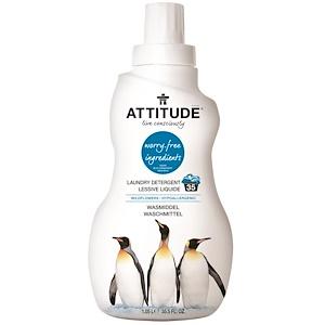 Аттитуде, Laundry Detergent, Wildflowers, 35.5 fl oz (1.05 l) отзывы покупателей