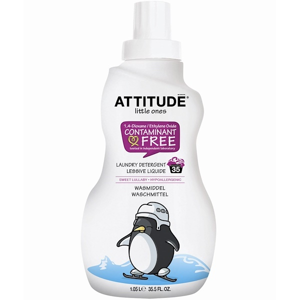 ATTITUDE, Little Ones, منظف غسيل, Sweet Lullaby, 35 Loads, 35.5 أوقية سائلة (1.05 لتر) (Discontinued Item)