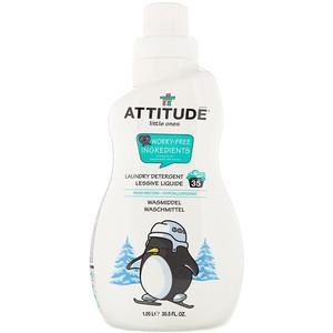 Аттитуде, Little Ones, Laundry Detergent, Pear Nectar, 35 Loads, 35.5 fl oz  (1.05 l) отзывы покупателей