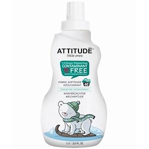 Аттитуде, Little Ones,  Fabric Softener, Pear Nectar, 40 Loads, 33.8 fl oz (1 l) отзывы покупателей