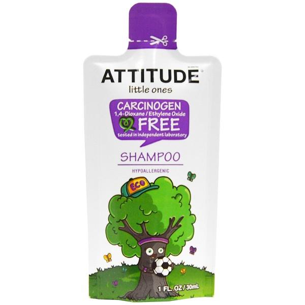 ATTITUDE, Little Ones, Shampoo, 1 fl oz (30 ml) (Discontinued Item)