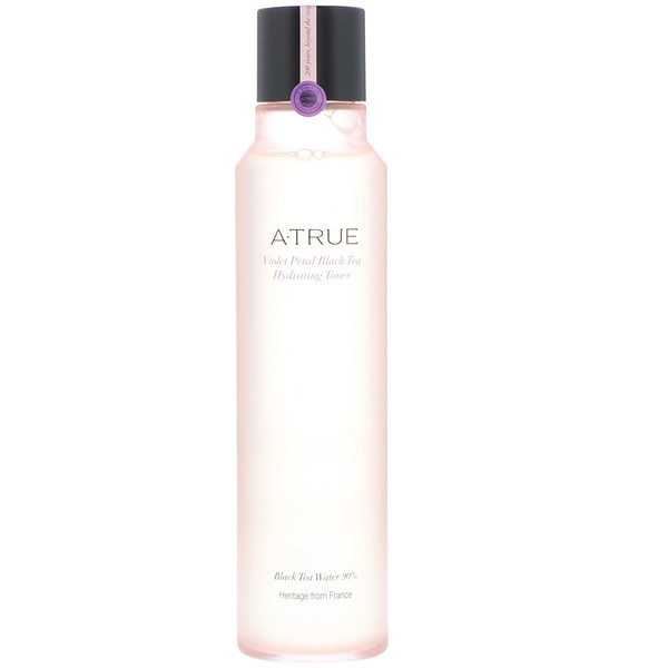 ATrue, Violet Petal Black Tea Hydrating Toner, 180 ml (Discontinued Item)