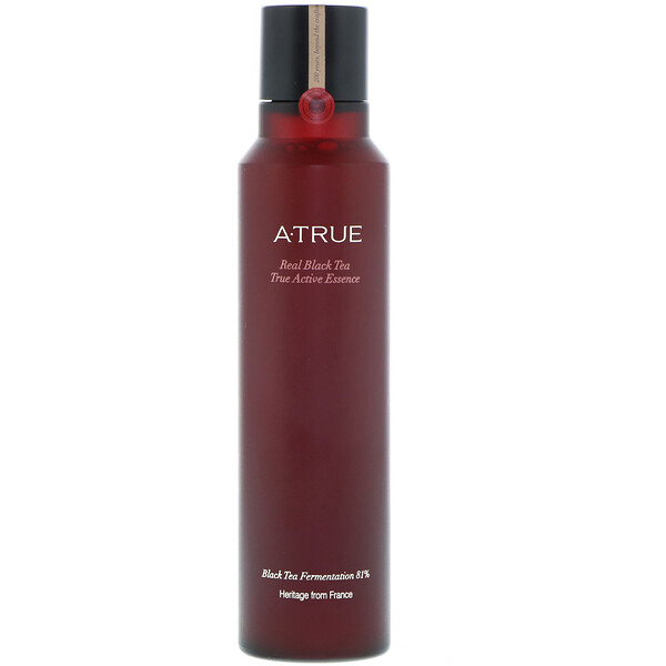 ATrue, Real Black Tea, True Active Essence, 180 ml (Discontinued Item)