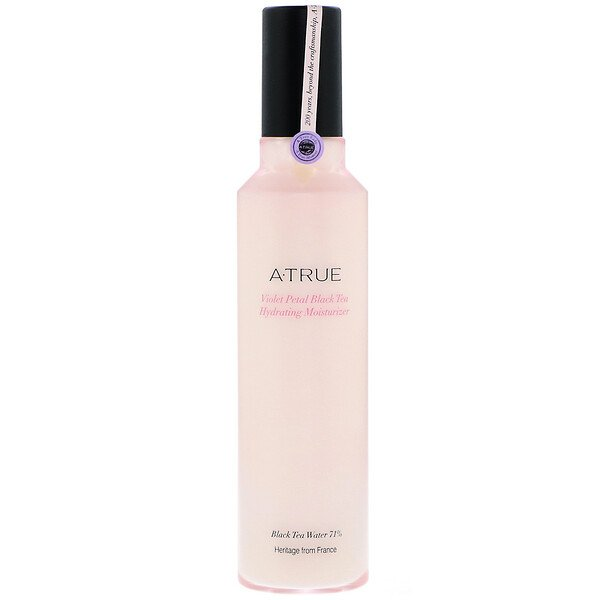 ATrue, Violet Petal Black Tea Hydrating Moisturizer, 120 ml (Discontinued Item)