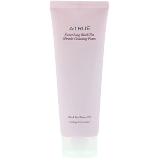 ATrue, Sweet Song Black Tea Miracle Cleansing Foam, 150 g