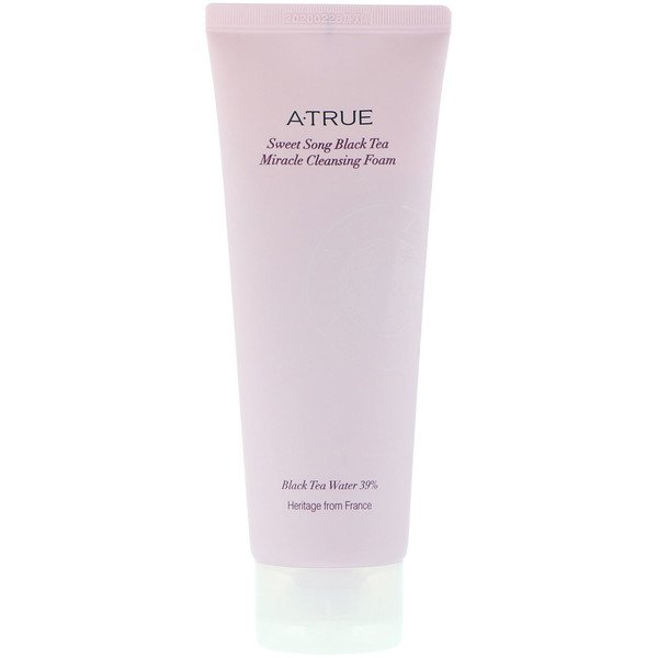 ATrue, Sweet Song Black Tea Miracle Cleansing Foam, 150 g (Discontinued Item)