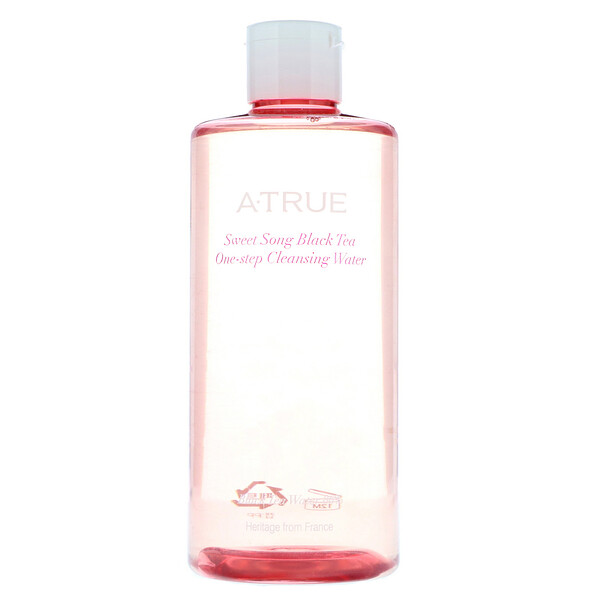 ATrue, Sweet Song Black Tea, One-Step Cleansing Water, 300 ml