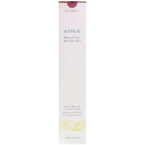 ATrue, ハニーレモン・ブラックティー・ミスト、100 ml