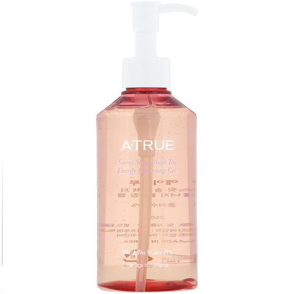 ATrue, Sweet Song Black Tea Energy Cleansing Gel, 8.82 oz (250 ml) (Discontinued Item)