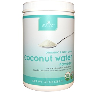 Activz, Organic Coconut Water Powder, 13.6 oz (385 g)
