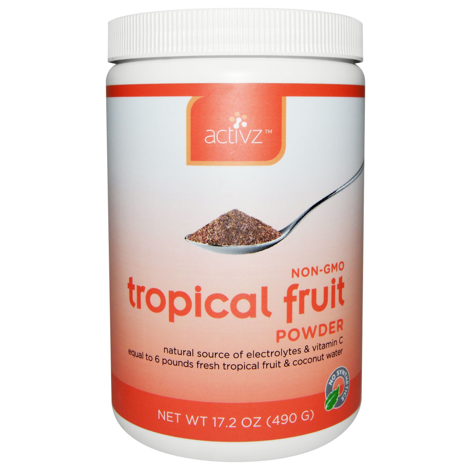 Activz, Tropical Fruit Powder, 17.2 oz (490 g)