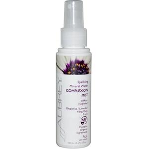 Обри Органикс, Sparkling Mineral Water Complexion Mist, Grapefruit/Lavender Ylang Ylang Scent, 3.4 fl oz (100 ml) отзывы покупателей