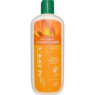 Aubrey Organics, Island Naturals Conditioner, Tropical Repair, Dry Replenish, 11 fl oz (325 ml)
