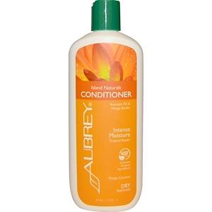 Обри Органикс, Island Naturals Conditioner, Tropical Repair, Dry Replenish, 11 fl oz (325 ml) отзывы покупателей
